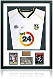 British Sports Museum Jermaine Beckford Leeds United - Camiseta de manga corta (firmada a mano)