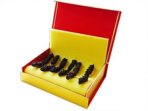 乾燥ナマコ A級品50g 化粧箱入り (Aランク) 北海道産乾燥なまこ 金ん子 (中華高級食材) 干し海鼠 北海キンコ 海参 海参皇 干しなまこ (干しナマコ) ギフトやプレゼントに