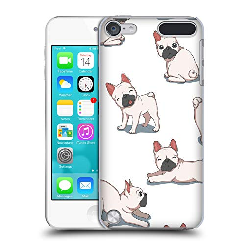 Head Case Designs Officially Licensed Haroulita French Bulldogs Cats and Dogs Hard Back Case Compatible with Apple iPod Touch 5G 5th Gen
