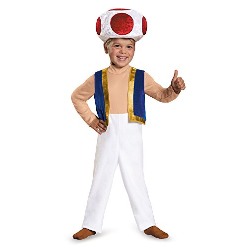 Toad Toddler Costume, Small (2T)