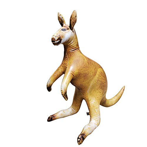 Jet Creations Australia Kangaroo Wallaby Inflatable  40 inch Blow up Safari Animal Figure  Gift Toys for Kids Decorations  AN-ROO40