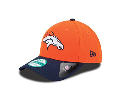 New Era Herren 9Forty Denver Broncos Kappe, Orange, OSFA