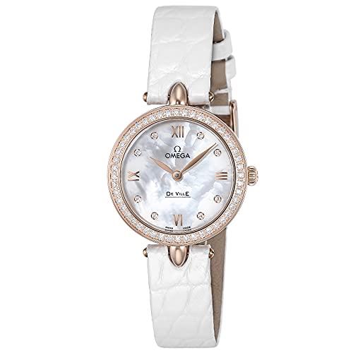 [OMEGA(オメガ)] 腕時計 デ・ウ゛ィル ドユードロップ 424.58.27.60.55.002 レディース ホワイト [並行輸入品]