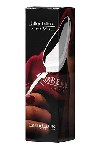 Robbe & Berking Silberpflegeserie - Silberpolitur für versilberte und Silberne Bestecke 250ml