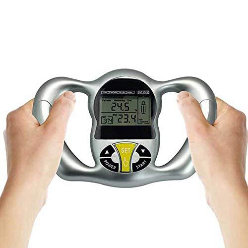 CSFM-Body Handheld BMI-Tester Körperfettmonitore LCD Rekordhöhe Gewicht Alter Stoffwechsel Geschlecht