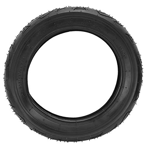 Cocosity Bicycle Tire, 57‑203 Black Inflatable Outer Tyre Rubber Non-slip Bike Tyre Bicycle Replacement Tire Shockproof Spare Tire for Mountain Bike
