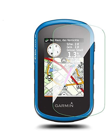 [4 pezzi] LFOTPP Pellicola Protettiva per Garmin Etrex Touch 25 35 35t GPS Vetro Temperato protezione schermo - 9H antigraffio Trasparente