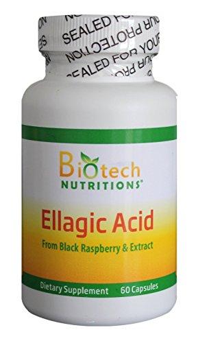Biotech Nutritions Ellagic Acid Capsules, 60 Count