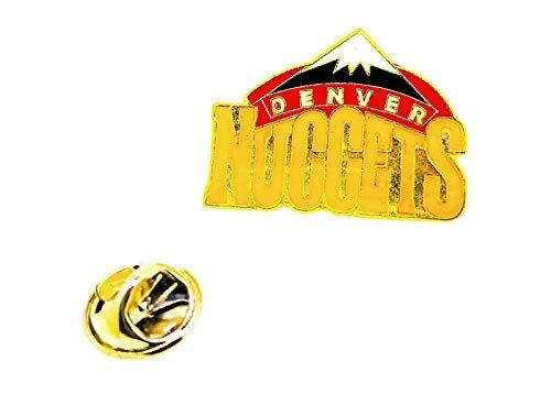 Gemelolandia | Pin de solapa NBA Denver Nuggets 27x20mm | Pines Originales Para Regalar | Para las Camisas, la Ropa o para tu Mochila | Detalles Divertidos