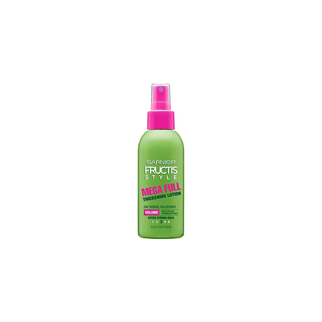 Beauty Shopping Garnier Fructis Style Mega Full Thickening Lotion for All Hair Types, 5 Ounce (Packaging May Vary)
