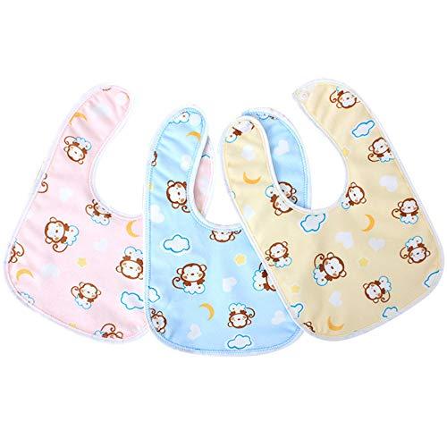 babero bebe,cojín antivuelco bebe,alimentación,bibs,bandanas,10 unids/lote, toalla impermeable de algodón para bebés, baberos ultra suaves para niños y niñas, alimentación de bolsillo de 1 a 3 años