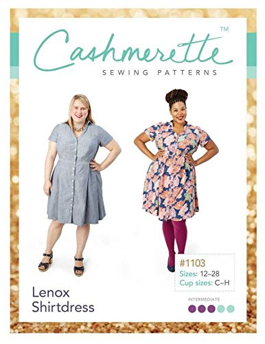 cashmerette Schnittmuster–Lenox Hemdblusenkleid Schneidern Muster
