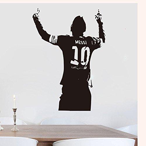 Messi Football Barcelona Soccer Wall Decals vinyl decor stickers