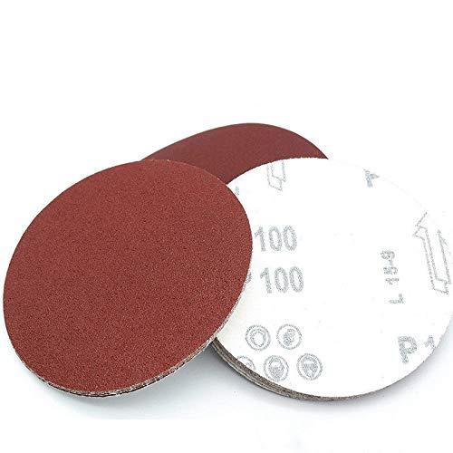 XVCHQIN 10pcs 100mm 125mm 150mm 180mm Round Sandpaper Disk Sand Sheets Grit 60-1000 Hook and Loop Sanding Disc Polish Sand Sheets,7Inch180mm,1200