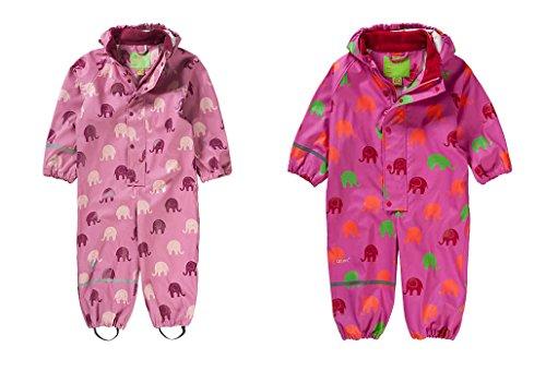 Celavi CeLaVi Matschanzug / Regenanzug / Overall ELEFANT in pink (Größe 100 passend für 98/104) Design 310061 / 5460 NEU