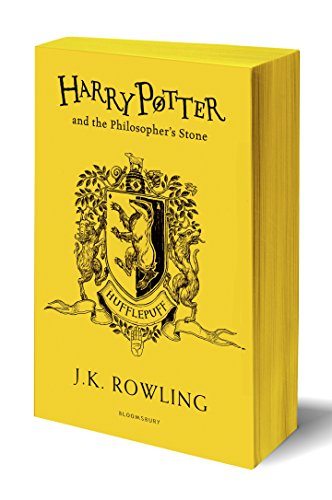 Harry Potter And The Philosopher's Stone. Hufflep: J.K. Rowling (Hufflepuff Edition - Yellow)