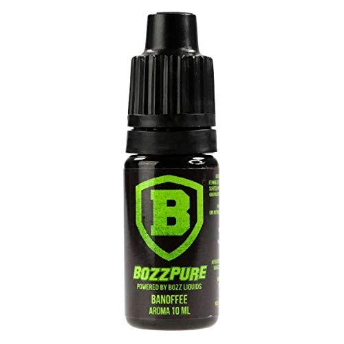 BozzPure Aromakonzentrat Banofee, zum Mischen mit Basisliquid für e-Liquid, 0.0 mg Nikotin, 10 ml