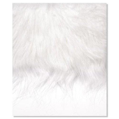 Knorr Prandell 20 x 35 cm Long-de Pelo de Peluche, Blanco