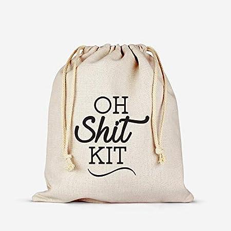survival kit bag wedding guest party bag favor bag oh shit kit hangover kit BRIDESMAID SURVIVAL KIT bachelorette party favors