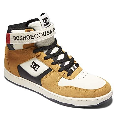 DC Shoes Pensford Hi - Chaussures en Cuir Montantes - Homme - EU 44 - Jaune