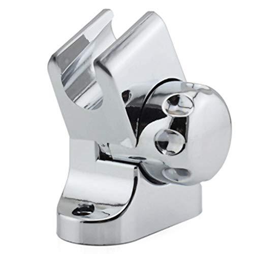 Soporte de cabezal de ducha, soporte de cabezal de ducha ajustable universal de rotación para bañera, soporte montado en la pared, accesorios de herramientas de baño