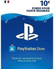 Carte PSN 10 EUR | Compte français | Code de téléchargement (PS5/PS4/PS3)
