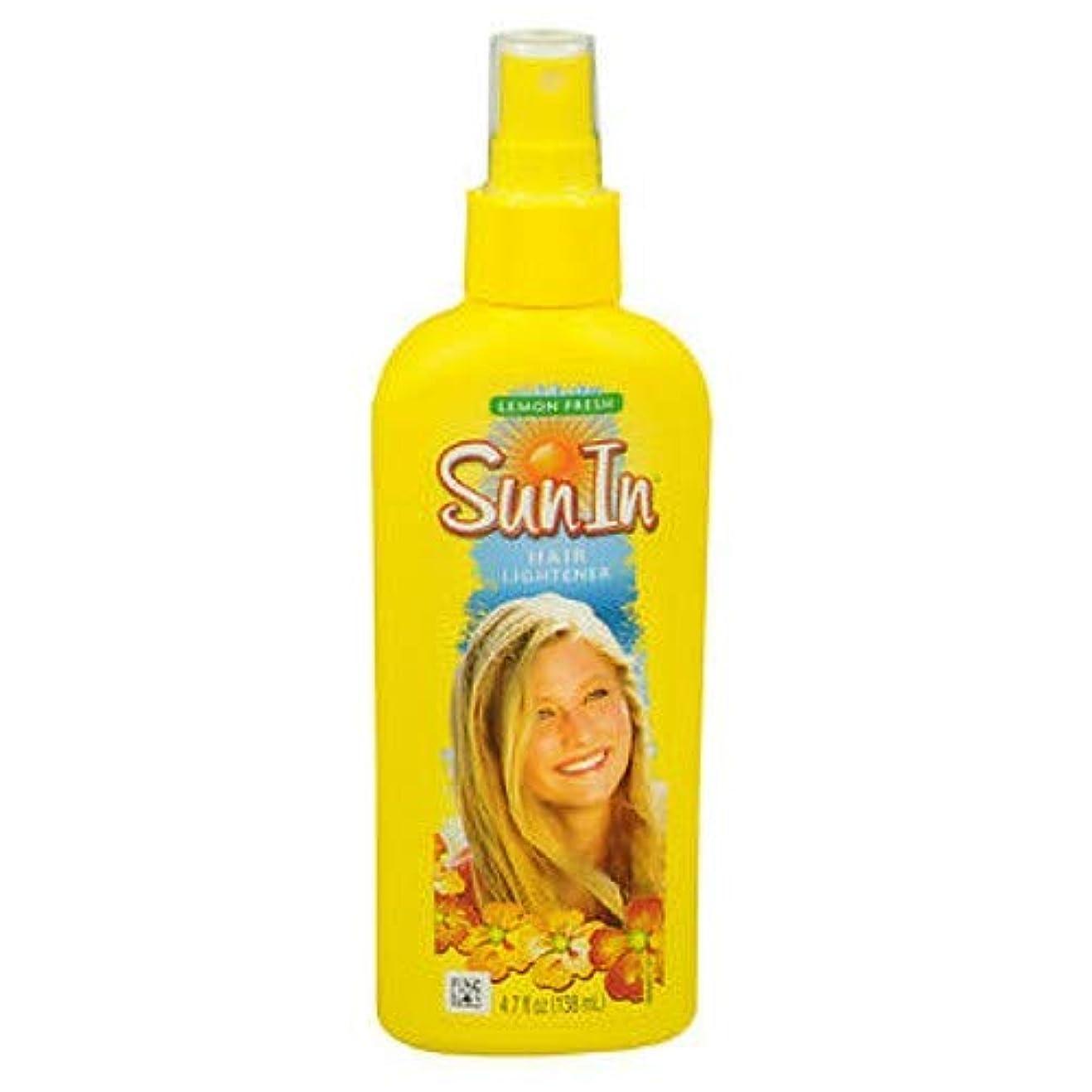 純度財布研究海外直送品Sun-In Sun-In Hair Lightener Spray Lemon Fresh, Lemon Fresh 4.7 oz