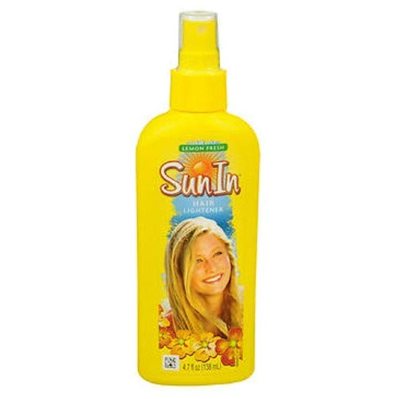 ペルーローンが欲しい海外直送品Sun-In Sun-In Hair Lightener Spray Lemon Fresh, Lemon Fresh 4.7 oz