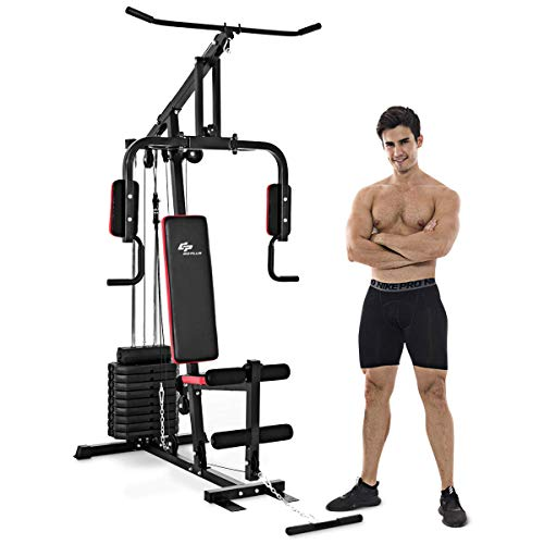 powerful Goplus Multi-functional home gymnastics system Strength training Exercise equipment Fitness equipment…