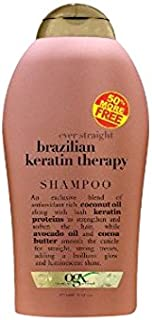 Organix Brazilian Keratin Shampoo Bonus, 19.5 Ounce