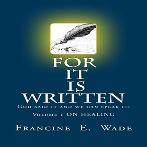 For It Is Written audiobook cover art