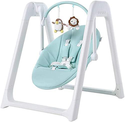 WZX Baby Crib Cradle Auto Rocking Chair Newborns Sleep Bed, Rocking Music Remoter Control Sleeping Basket Bed