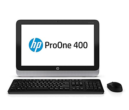 HP AIO 400 G1 19.5in HD LED All-in-one desktop computer, Intel Dual Core i5-4570T 2.9GHz up to 3.5GHz, 8G RAM, 500GB, DVD, WIFI, USB 3.0, Windows 10 Professional (Renewed)