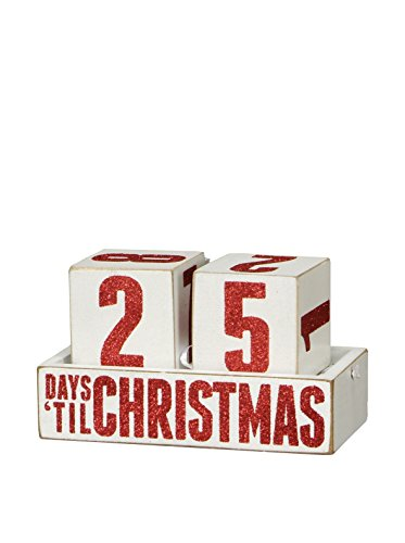Primitives by Kathy Block Countdown - Day 'Til Christmas, 4.75' x 2.5'