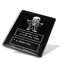 ブックカバー 文庫本カバー アンダーテール サンズ ノートカバー メモ帳カバー 文庫本 ほぼ日手帳 手帳カバー 文庫判 資料 収納入れ オフィス用品 軽量 耐久性 シンプルなデザイン