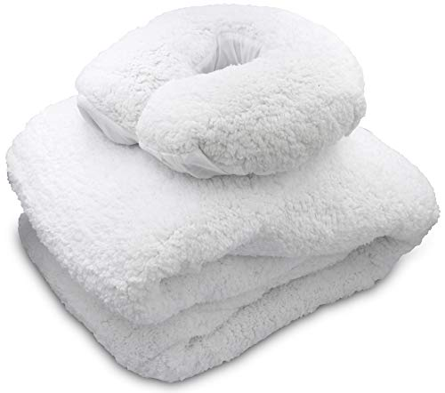 [PREMIUM] Massage Table Fleece Pad Set, 34