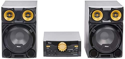 Mini System, Philco, PH1800BT, 056603730, Preto/Dourado, Medio