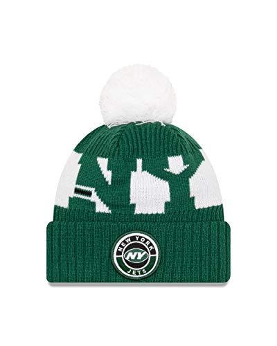 New Era New York Jets Beanie - NFL Sideline 2020 On Field Sport Knit - Green - One-Size