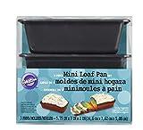 Wilton Non-Stick Mini Loaf Pan Set, 3-Piece