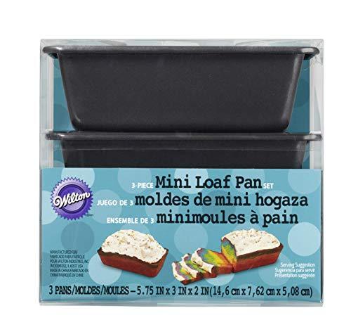 Wilton 3-Piece Mini Loaf Tin Set