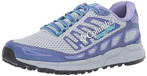 Columbia Bajada III, Zapatillas de Trail Running para Mujer, Azul (Cirrus Grey, Opal Blue), 39 EU