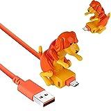 Cable De Carga Para Perros Callejeros, Juguete Para Perros, Cargador De Cable Usb Para TeléFono Inteligente, Juguete Para Perros En Miniatura Para Varios Modelos De TeléFonos MóViles PortáTiles (F)