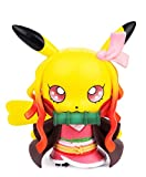 Demon Slayer Figures Pikachu Cosplay Kamado Nezuko Figure Statues Kimetsu no Yaiba Collection Birthday Gifts PVC 3.5'