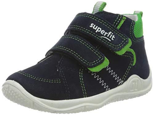 Superfit Jungen Universe Sneaker, Blau (Blau/Grün 80), 25 EU