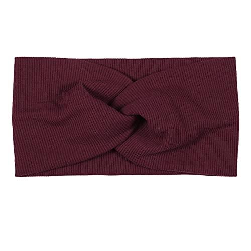 PPLAX Yoga Stirnband Yoga Sports Stirnband Cross-Top-Knoten-elastisches Stirnband ist weich und fest (Color : 5)