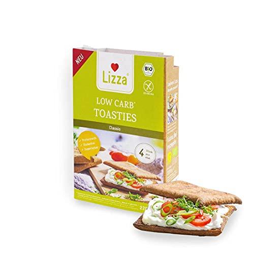 Lizza - Low Carb Toasties aus Leinsamen - BIO - 220g - DE-ÖKO-006