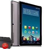 4G LTE Tablette Tactile 10 Pouces - TOSCIDO W109 Android 9.0 Certifié par Google GMS, Quad Core,4G Doule SIM,64 Go,4 Go de RAM,WiFi/Bluetooth/GPS/OTG,Double Haut-Parleur Stéréo - Gris