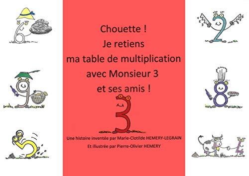 Amazon Com Chouette Je Retiens Ma Table De Multiplication Avec