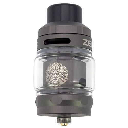 GeekVape Zeus Sub Ohm Tank 3,5 ml/5 ml, Durchmesser 26 mm, DL Verdampfer für e-Zigarette, gunmetal
