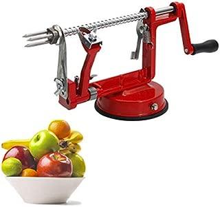 3-in-1 Apple/Potato Peeler Corer by Spiralizer Stainless Steel Hand-cranking Apple Peeler Slicer Peeler